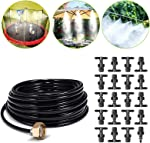 Misting Cooling System Outdoor Misters Automatic Plant Watering System 8x5MM 65.6FT