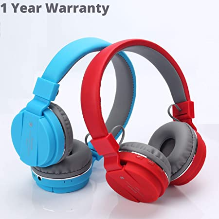 Raptas Headphones Over Ear Wireless bluetooths Headphones with Mic Portable Stereo Headsets for Cell Phones