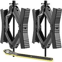$79 » EPOARTIST Camper Wheel Chock Stabilizer Scissor 2 Sets for RV Travel Trailer tire chalks…