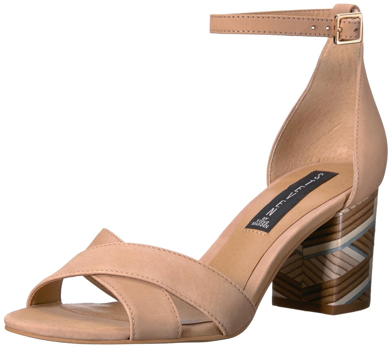 STEVEN by Steve Nubuck Madden Damens's Voomme-s Dress Sandale Tan Nubuck Steve e2ceb8