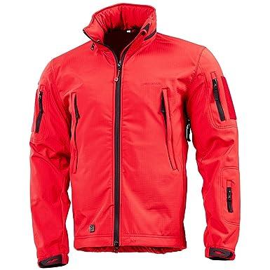 3e66d4cd613a4f Pentagon Artaxes Men s Softshell Jacket Red at Amazon Men s Clothing ...