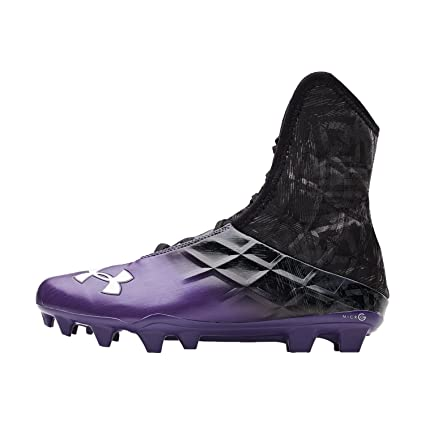 449d47106f51 Image Unavailable. Image not available for. Color  Under Armour New Mens  Highlight MC Football Cleats Black Purple Sz 16
