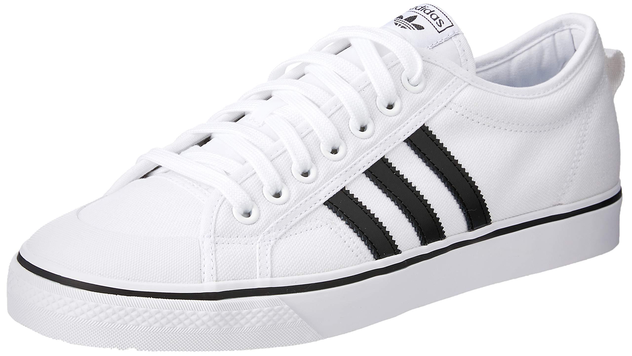 adidas Originals Nizza Shoes 13 D(M) US White Black