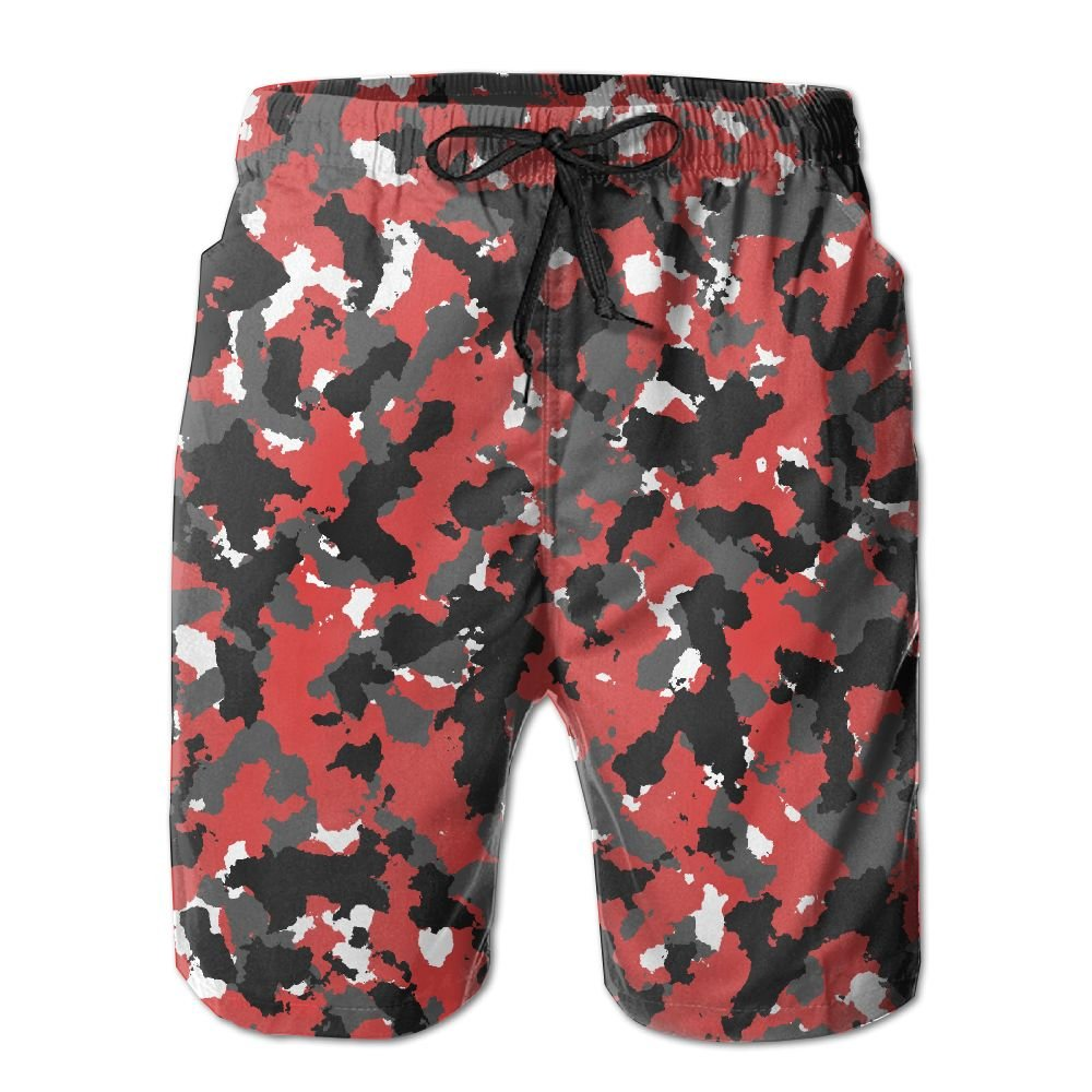 Aniaml Bape Camouflage Green Mens Summer Swim Beach Shorts