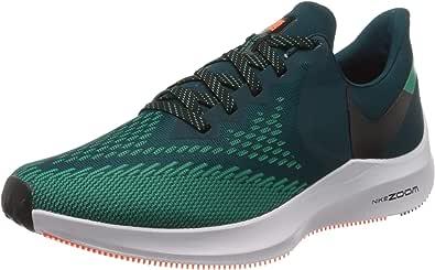 Nike Zoom Winflo 6, Zapatillas para Correr para Hombre, Midnight Turq Black Neptune Green, 46 EU: Amazon.es: Zapatos y complementos