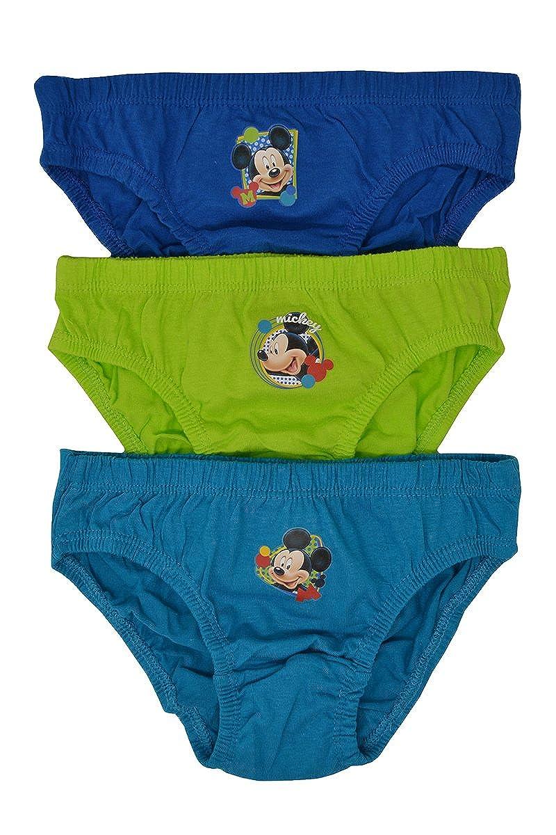 Aumsaa Boys Kids Characters 100/% Cotton Briefs Underwear Slips Pants 3 Pack