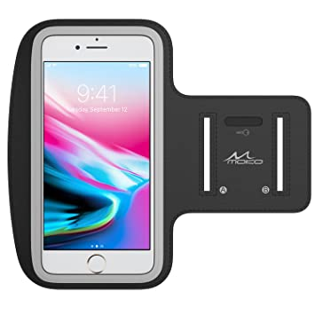MoKo Galaxy S7 Edge Armband, Premium Sports Exercise Armband para Running, Workouts or Any