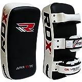 正規品 RDX レザー 革 キックミット カーブ 片手1個 ボクシング キックボクシング ムエタイ 格闘技 MMA 空手 各色 1個