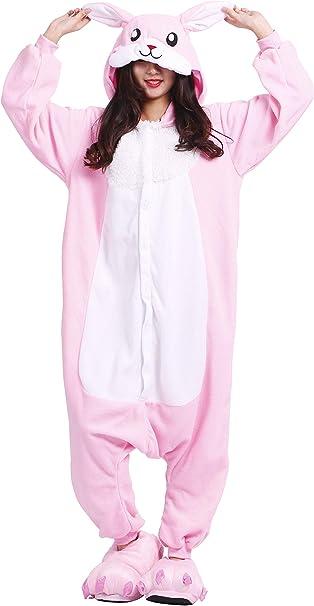 Pijama de Conejo Unisex Kigurumi Animal Onesie Rabbit