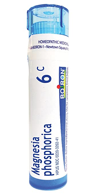 Boiron Magnesia Phosphorica 6C, 80 Pellets, Homeopathic Medicine for Abdominal Pain