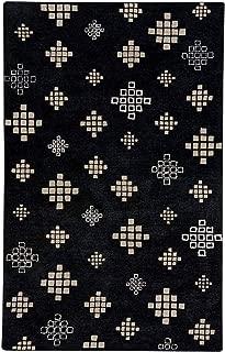 "product image for Capel Geneva Ebony Beige 3' 3"" x 5' 3"" Rectangle Hand Tufted Rug"