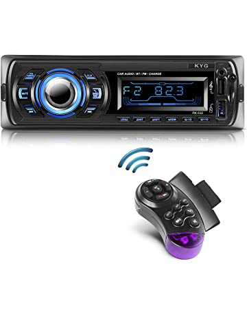 Radio de Coche Autoradio Bluetooth Manos Libres Radio Estéreo de Coche Apoyo de Reproductor MP3 con