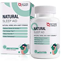 Natural Sleep Aid with Melatonin and L-Theanine - Strong Sleeping Pills for Insomnia...
