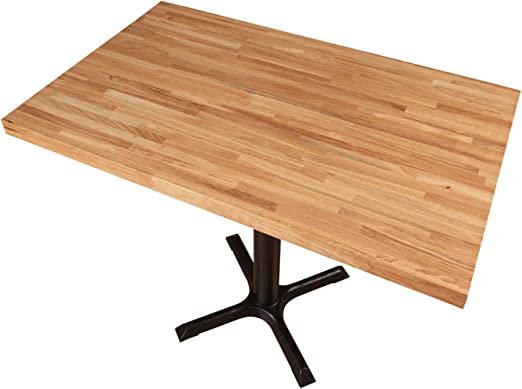 Tablero para mesa de comedor de madera de roble macizo, madera ...