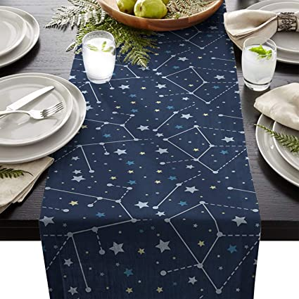 Amazon Com Artshowing Constellation Table Runner Party
