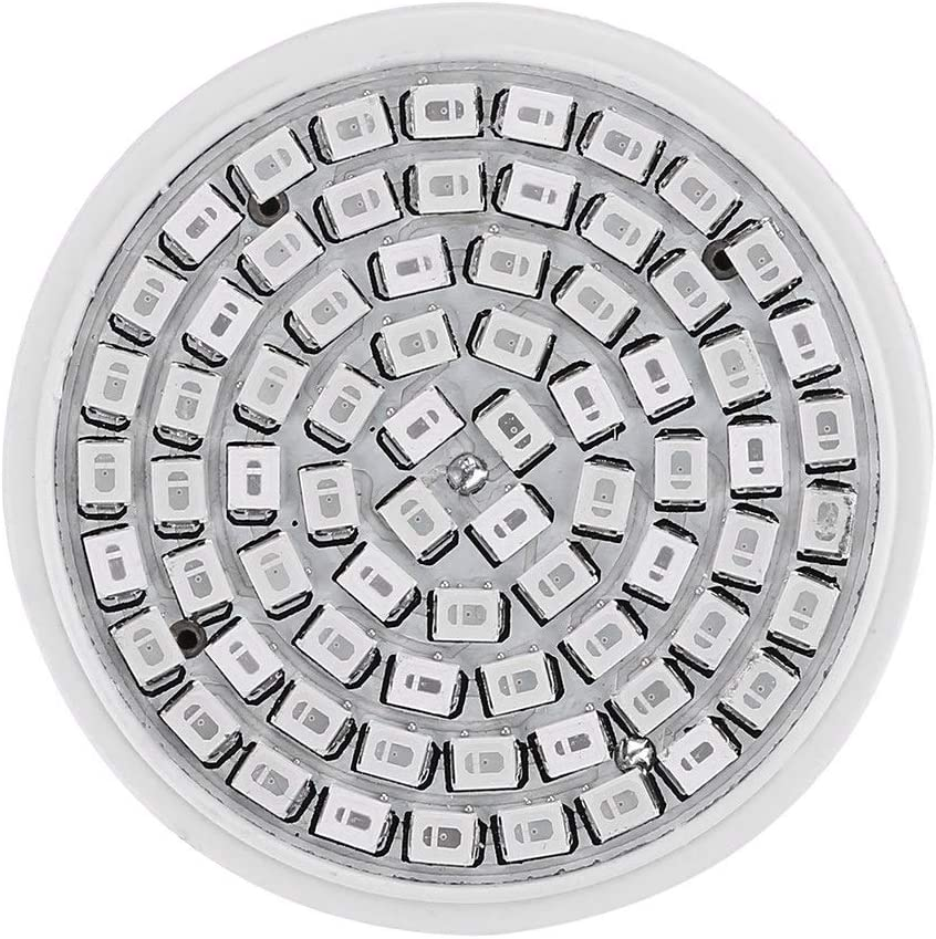 E27 36W 72 SMD LED Beads Bulb Light Lamp For Plants Hydroponic Growth Greenhouse