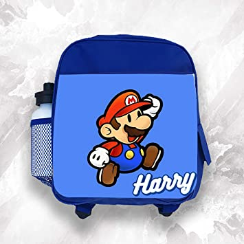 Personalized Super Mario Brothers Pencil Bag