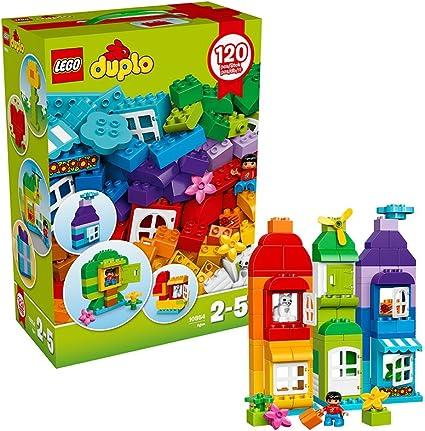 10887 Lego Duplo 120 piezas Conjunto de construcción ladrillos de gran diversión Creativa