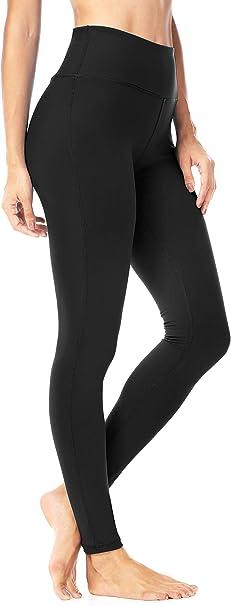 QUEENIEKE Yoga Leggings 4-Inch High Waist Workout Pants Running Leggings for Women