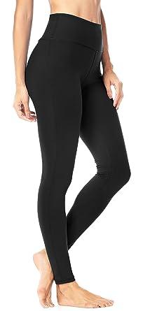 4f79e8e29a257 Queenie Ke Women Power Flex Yoga Pants Workout Running Leggings Size XS  Color Midnight Black Long
