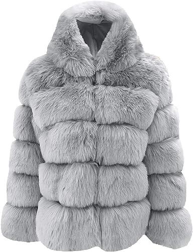 des manteaux de fourrure