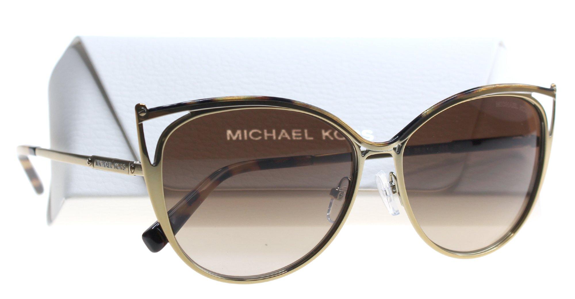 Michael Kors Ina Sonnenbrille Tokyo Tortoise / Gold 116313 56mm hwROHUL