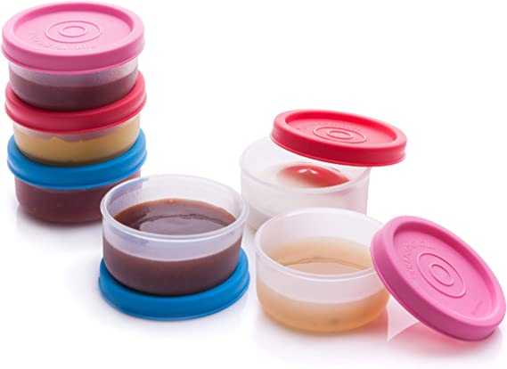 Cups Containers with Lids- 6 pk