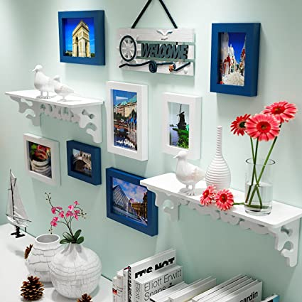 Buy Wollwoll Popular Places Wall Shelves And Welcome Living Room