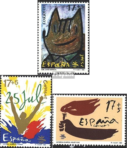 Prophila Collection España Michel.-No..: 3074-3076 (Completa.edición.) 1992 Barcelona `92 (Sellos para los coleccionistas): Amazon.es: Juguetes y juegos