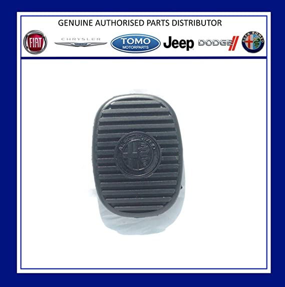 Alfa Romeo - Pedal de freno/embrague de goma 147 & GT 46755869 QTY 1: Amazon.es: Coche y moto