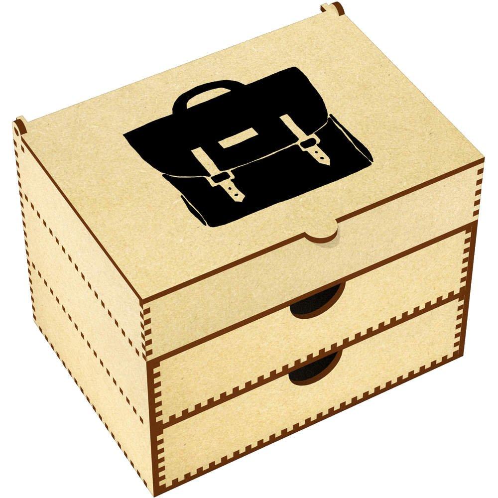 Azeeda 'Satchel' Vanity Case / Makeup Box (VC00001724)