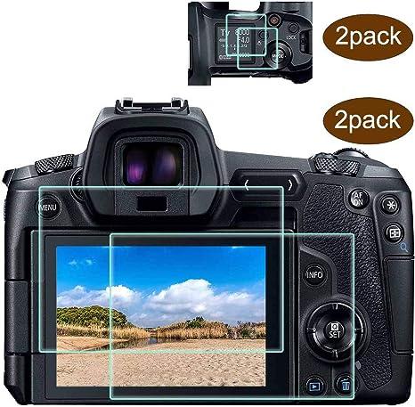 EOS R parte superior+protector de pantalla compatible con cámara ...
