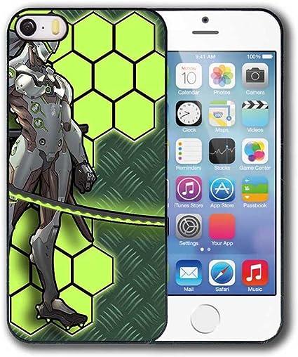 Genji Overwatch Coque iPhone 5 5s SE Coque Housse: Amazon.fr: High ...