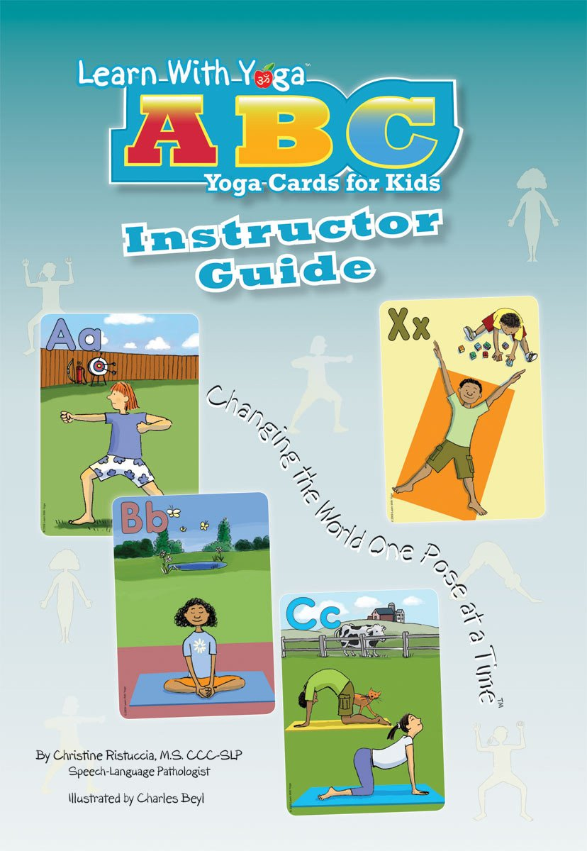 Learn With Yoga ABC Cards For Kids Instructor Guide: Amazon ...