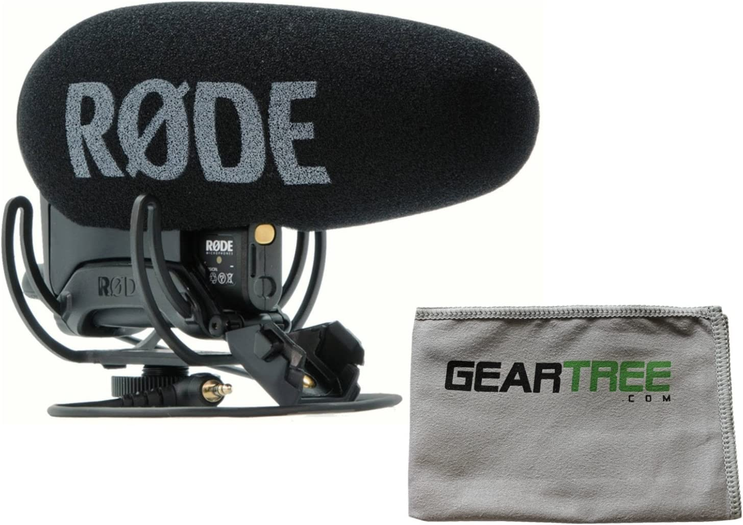 Rode VideoMic Pro R Plus VideoMic Pro with Rycote Lyre Shockmount w//Geartree Cl