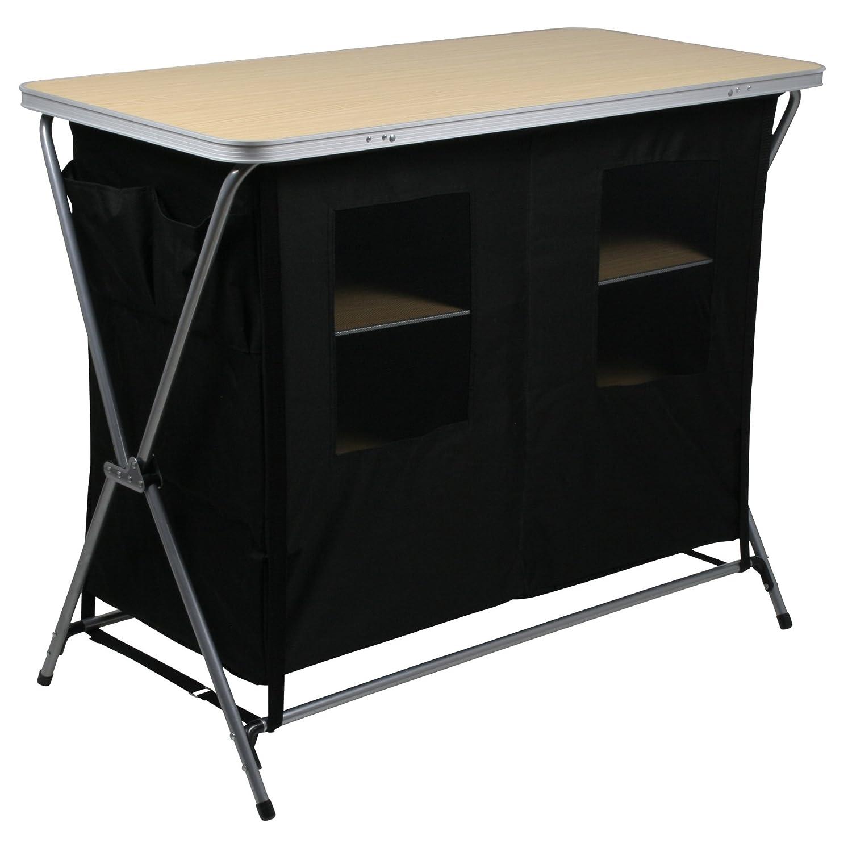 Unisex-Adulto 10T Outdoor Equipment 10T Flapbox Armario de Camping Est/ándar Negro