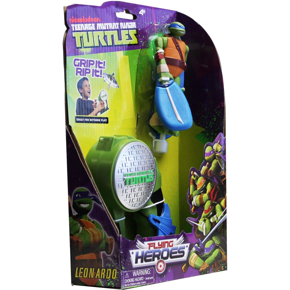 Flying Heroes - Figura Raphael de Tortugas Ninja (Bandai 52660)