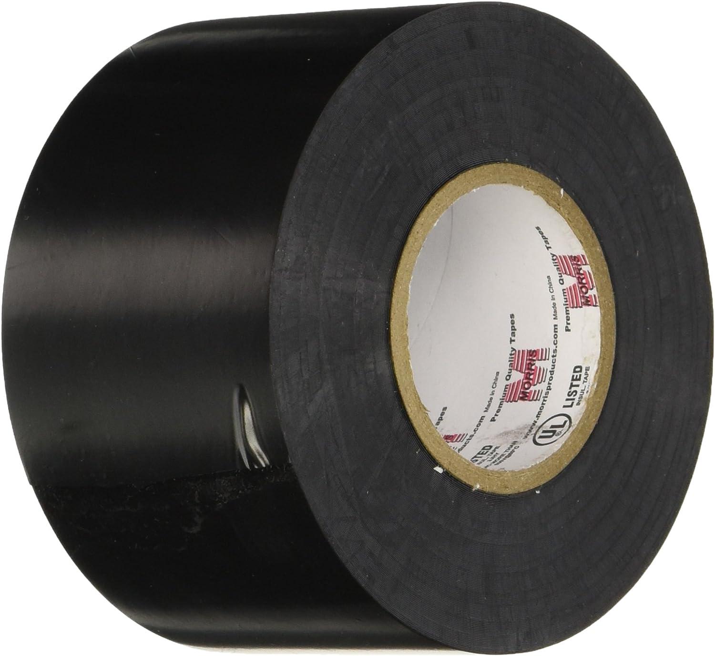 "Black 66 Length x 1-1//2/"" Width JVCC EL7566-AW Premium Grade Electrical Tape"