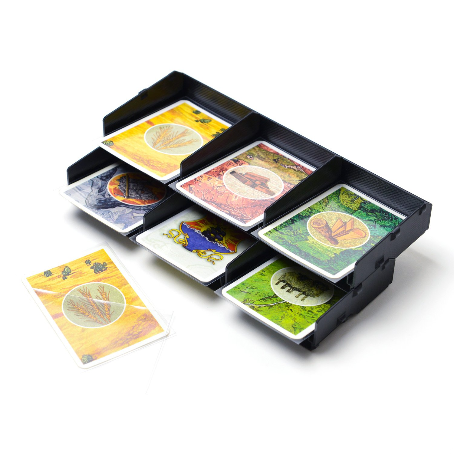 Card Tray/Box Organizer for Settlers of Catan