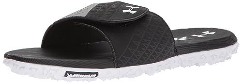 info for b80f8 c85cd Under Armour Men's Fat Tire Slide Sneaker