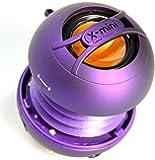 X-Mini UNO XAM14-PU Portable Capsule Speaker, Mono, Purple