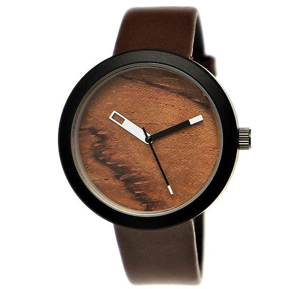 Elegante Pure Time® – Reloj de Mujer con Certificado de Madera Natural Reloj Reloj de