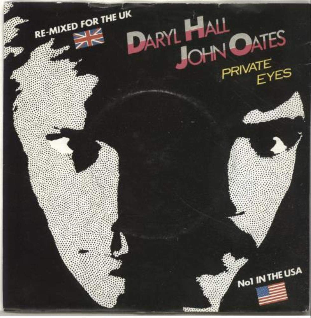 Private Eyes (1981) vinyl 7 inch