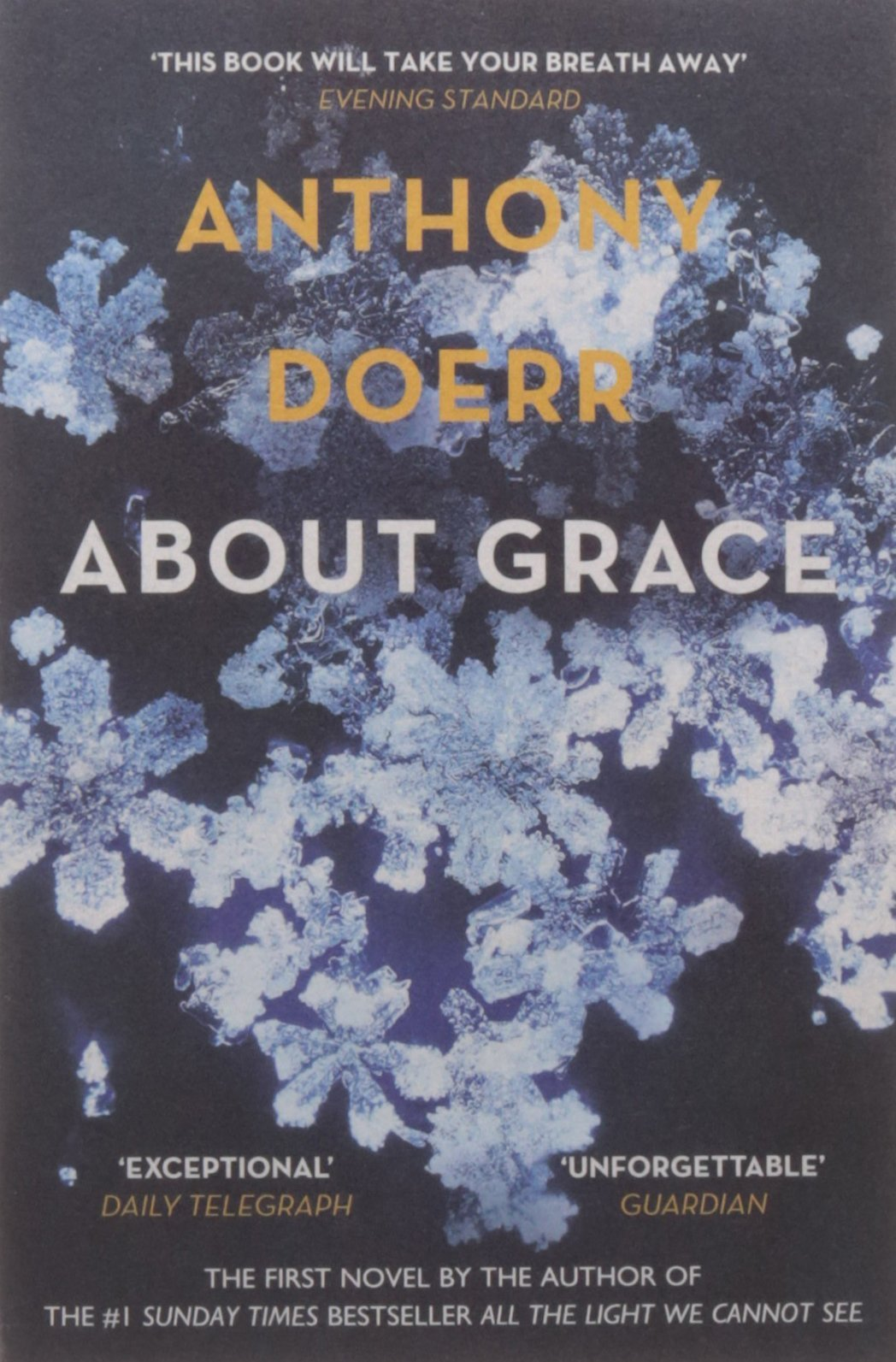 Anthony Doerr Collection 3 Books Bundle (all The Light We Cannot See, About  Grace, The Shell Collector): Amazon: Anthony Doerr: 9789123553402:  Books