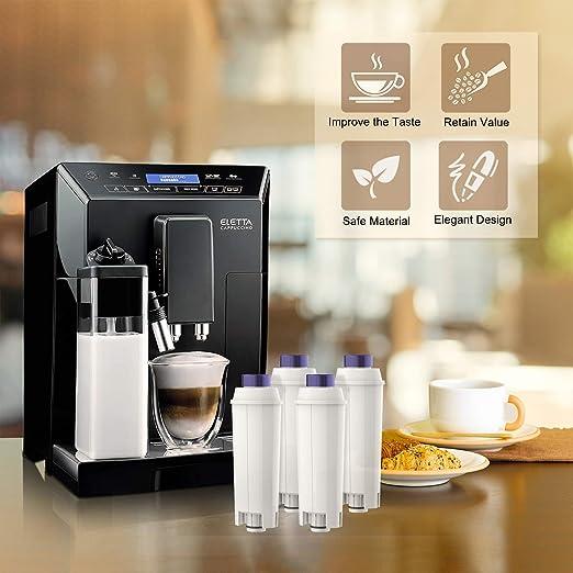 Filtros de agua para cafeteras DeLonghi 6 unidades AGUANEXT DeLonghi DLSC002