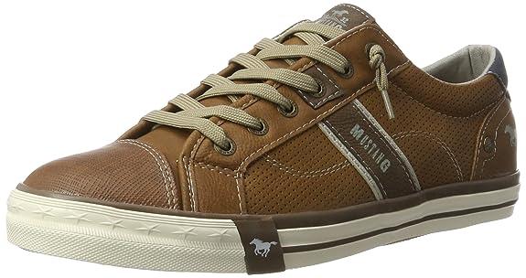 Mens 4072-301-307 Low-Top Sneakers, Brown (307 Cognac) Mustang