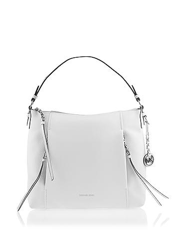 4743d0a3709b MICHAEL Michael Kors Corinne Large Leather Shoulder Bag: Handbags:  Amazon.com