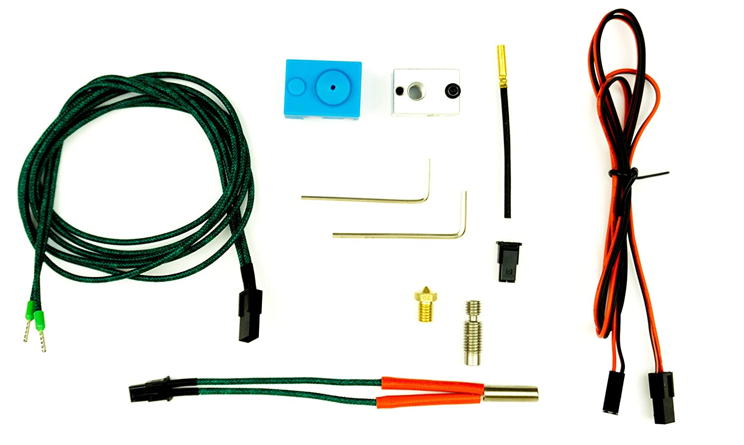 Repair & Upgrade kit for for Prusa i3 and 1.75mm 24V e3d compatible v6 all metal Hot Ends 3D Printers TCMUK3D