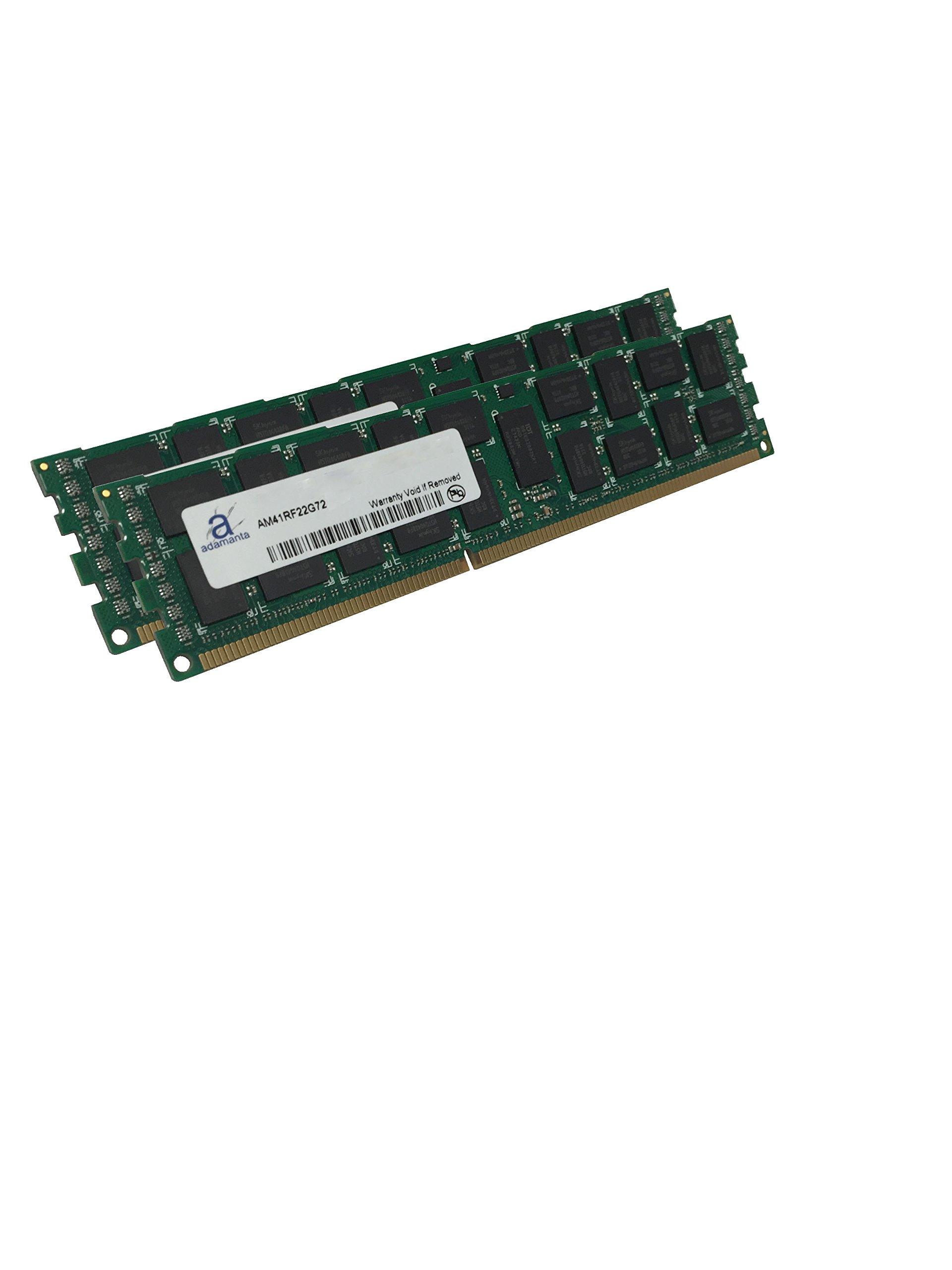 Adamanta 32GB (2x16GB) Server Memory Upgrade for Dell PowerEdge T320 DDR3 1600Mhz PC3-12800 ECC Registered 2Rx4 CL11 1.5v by Adamanta Memory (Image #2)