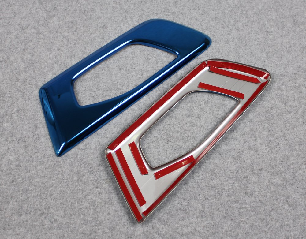 Beautost Fit for Honda 2017 2018 2019 CR-V CRV Interior Door Handle Bowl Cover Trims Stainless Steel Blue Kate Wenzhou automobile supplies factory